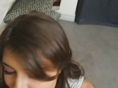 Teen babe Adria Rae get s blackmailed by stepbrother