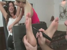Tickling submission - Czech armpit tickling